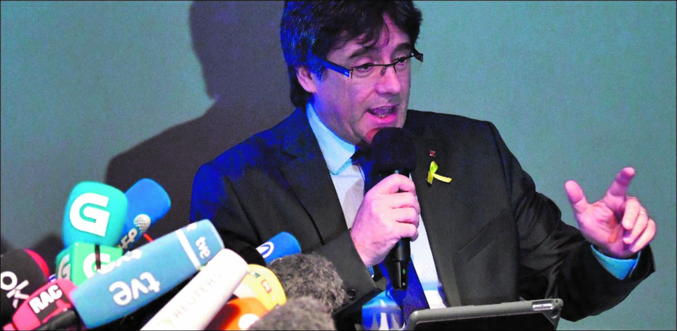 Pour Puigdemont, l'indépendance de  la Catalogne n'est pas l'unique solution