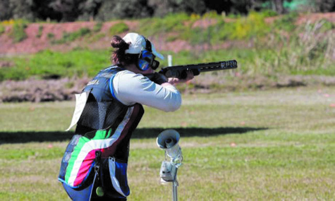 Mrighi, championne arabe de Tir aux plateaux