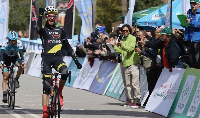 Vermeulen enfile le maillot jaune du Tour du Maroc