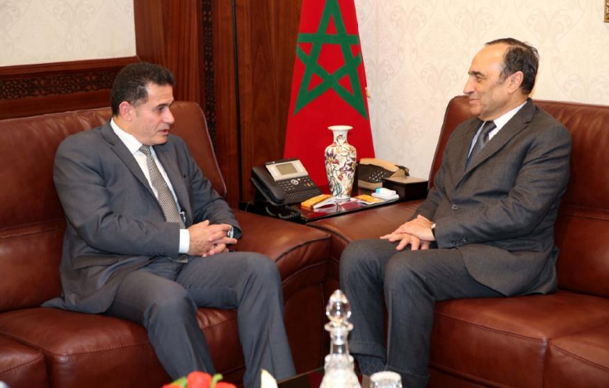 L'Irak réitère son soutien à l'intégrité territoriale du Royaume : Habib El Malki reçoit Abdulkarim Hashim Mustafa