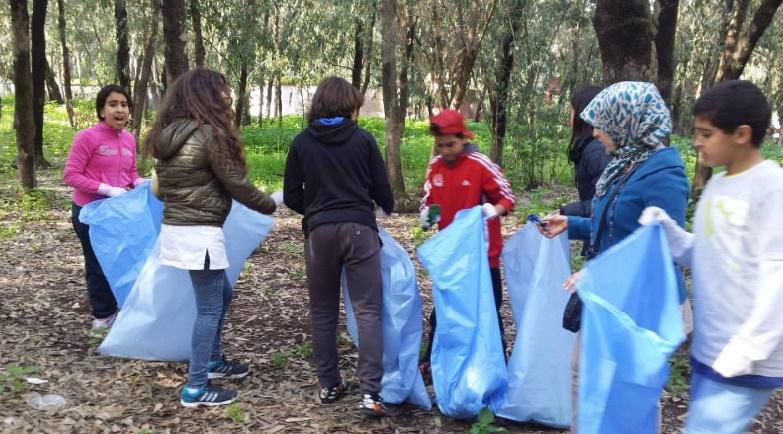 Le bénévolat au service de la forêt de Bouskoura