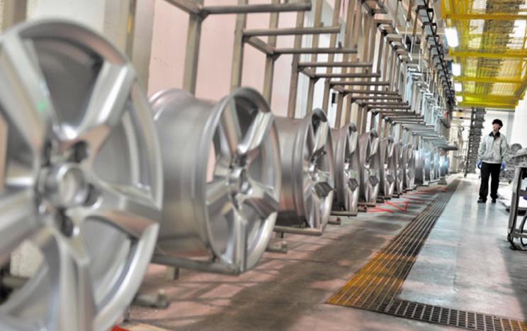 Hands Corporation pose la première pierre de son usine de production de jantes en aluminium à Tanger