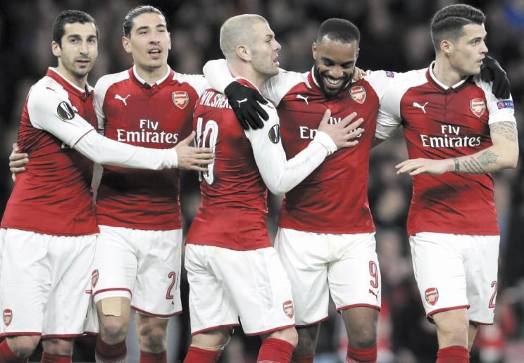 Europa League : Arsenal et Atlético ont tremblé