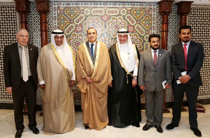 Le président de la Chambre des représentants reçoit une délégation du Groupe d'amitié parlementaire maroco-koweïtien