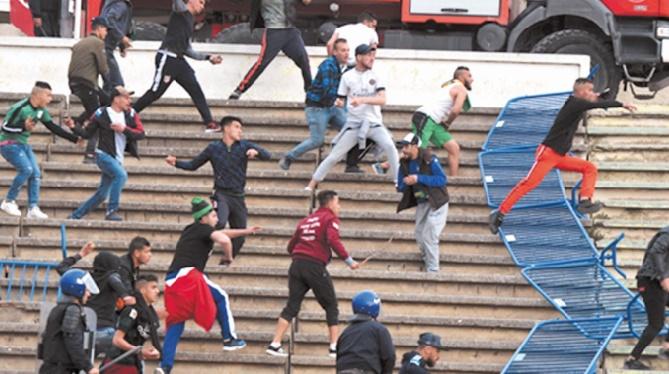 Le foot algérien secoué par le hooliganisme