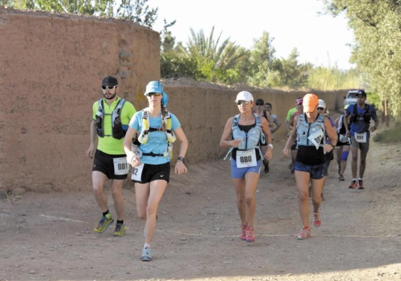 Cinquième édition de l'Eco Trail de Ouarzazate
