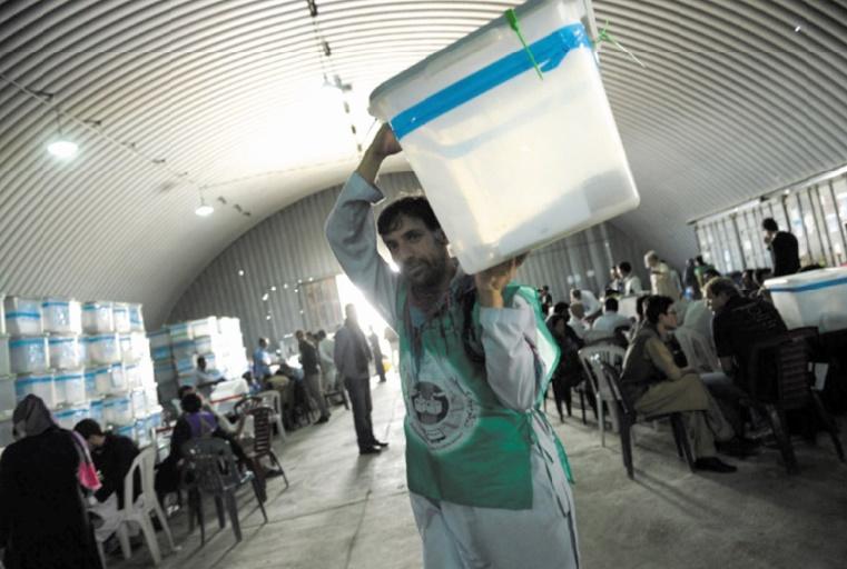 Un centre électoral attaqué en Afghanistan