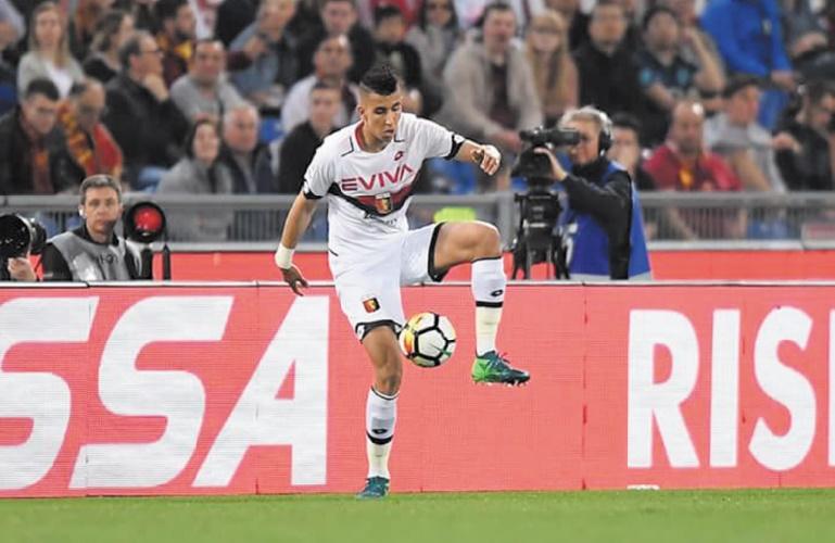 Bonne prestation d'El Yamiq pour sa première titularisation au Genoa