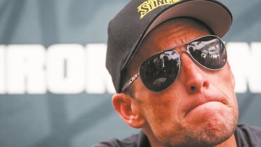 """Lance Armstrong, l'ex-""""boss"""" arrogant du Tour de France aujourd'hui apaisé"""