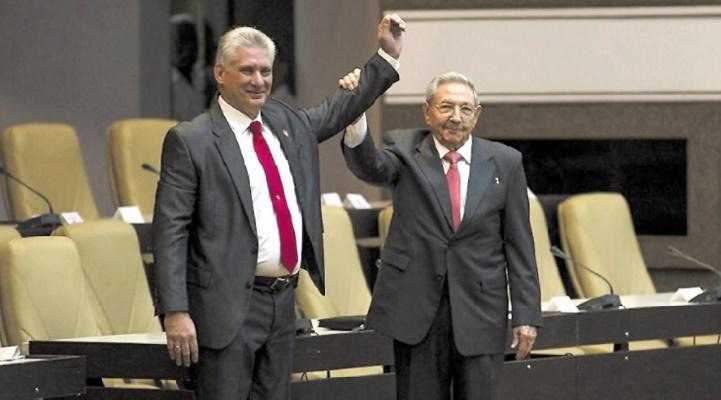 Diaz-Canel promet de poursuivre l'œuvre des Castro à la tête de Cuba