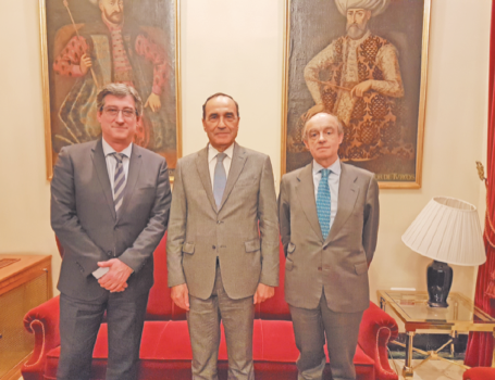 … et Ignacio Prendes accompagné de Fernando Maura