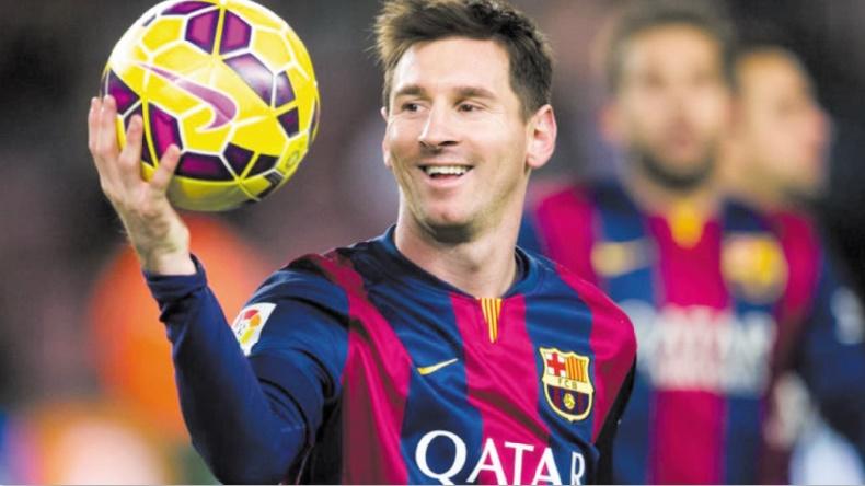 Messi, le footballeur le mieux payé au monde
