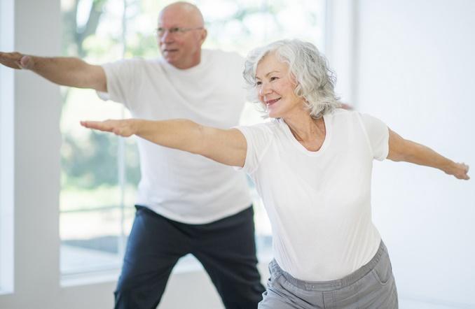 De l'exercice pour prévenir la chute des personnes âgées