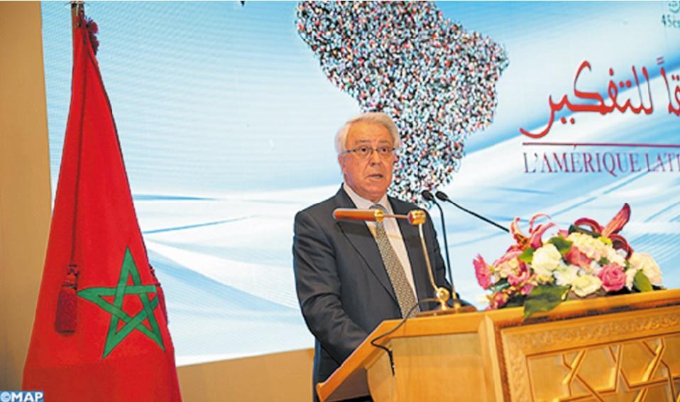 Abdeljalil Lahjomri : La coopération Sud-Sud se présente comme un objectif stratégique pour le Maroc et l'Amérique latine