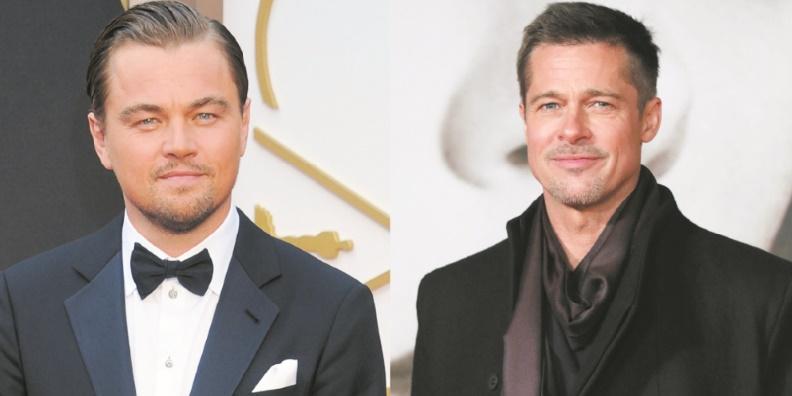 Leonardo DiCaprio et Brad Pitt futur duo mythique de cinéma