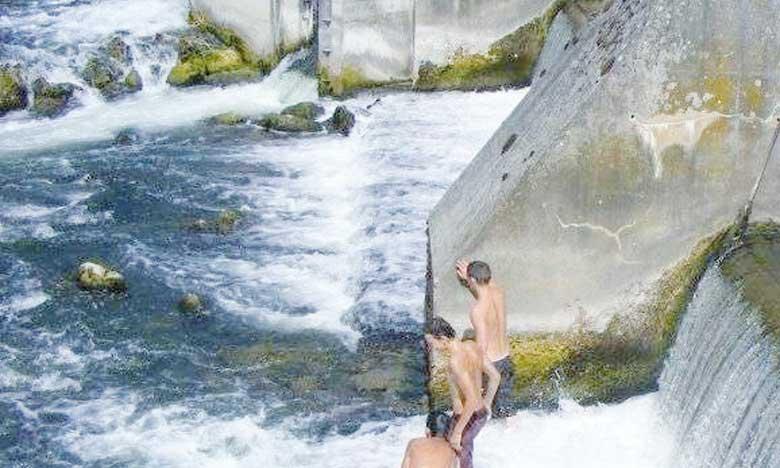 Sensibilisation aux dangers de baignade dans les barrages de Tamesna, El Himer et Hassar