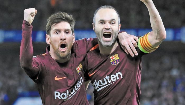 Triplé de Messi, doublé du Barça !