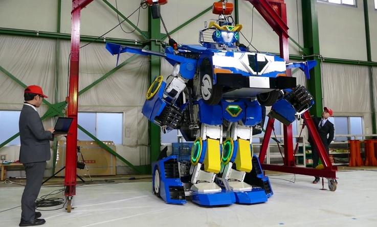 """Insolite : Vous avez toujours rêvé de vivre dans """"Transformers""""?"""