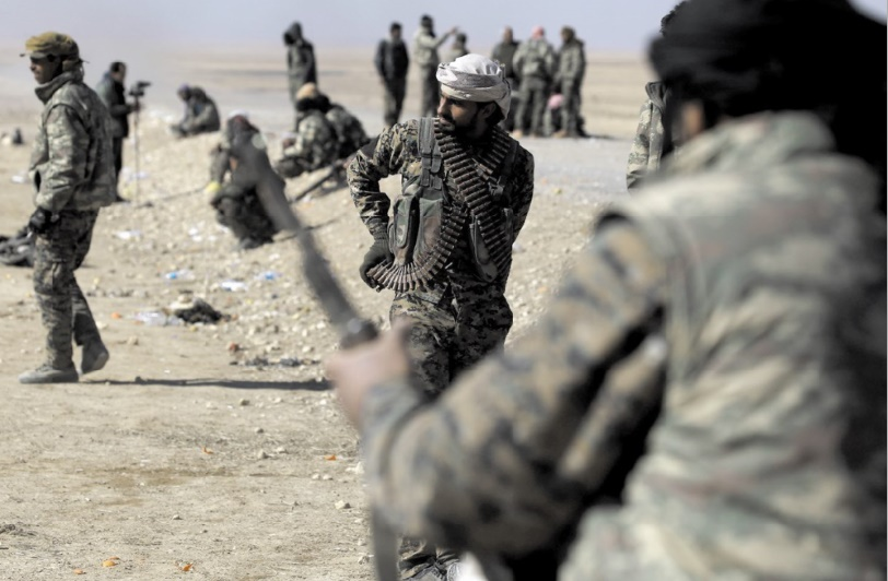 L'offensive des FDS contre l'EI reprend dans l'est de la Syrie