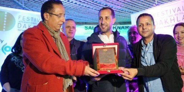 """""""Sallil As-samt"""" remporte le Grand prix  du Festival international du film de Dakhla"""
