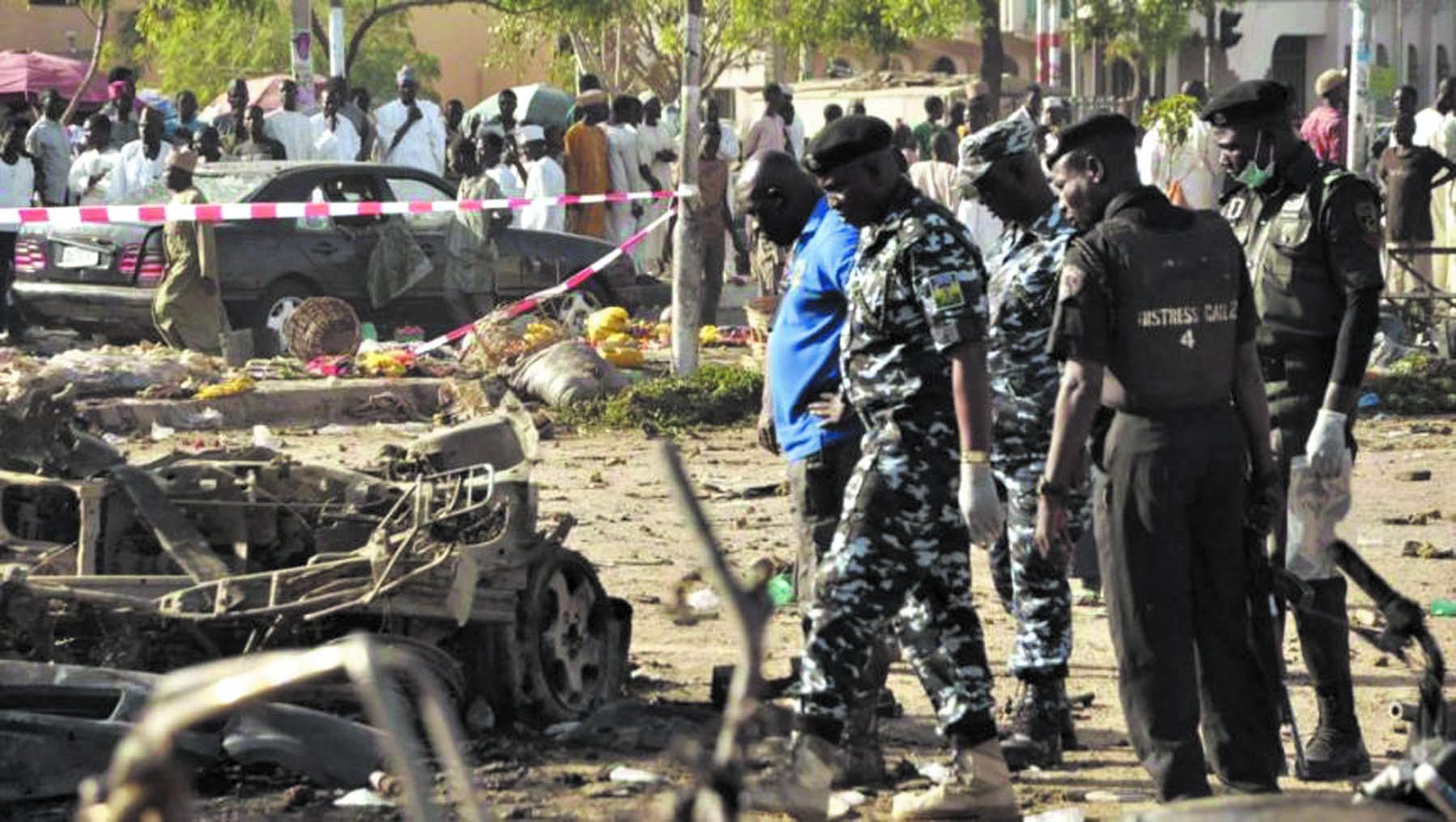 Un double attentat de Boko Haram fait des dizaines de morts au Nigeria
