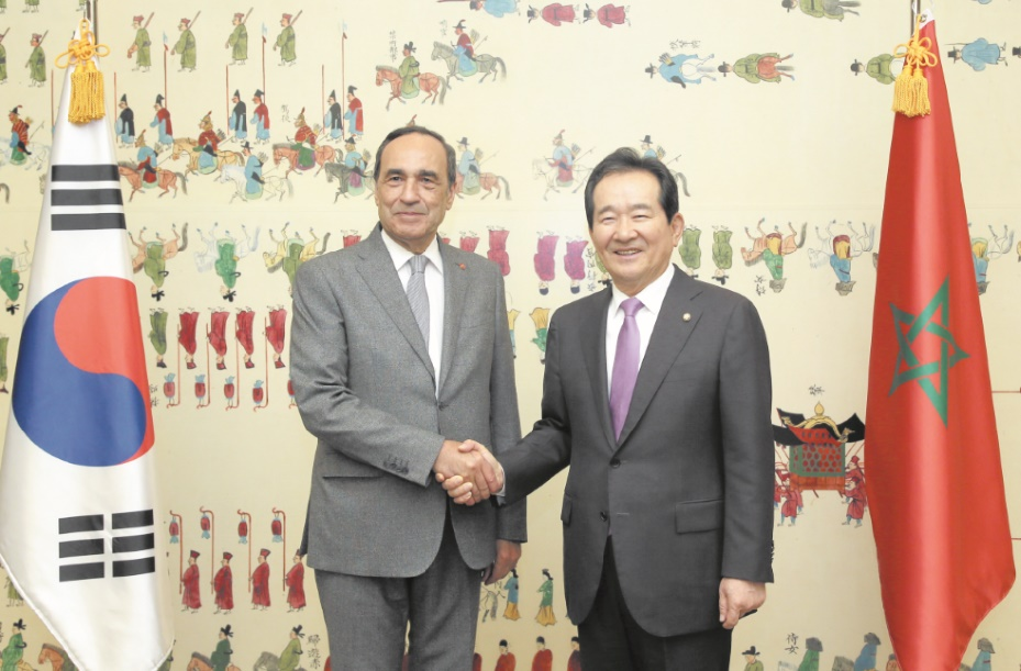 Signature d'un mémorandum d'entente parlementaire maroco-sud-coréenne