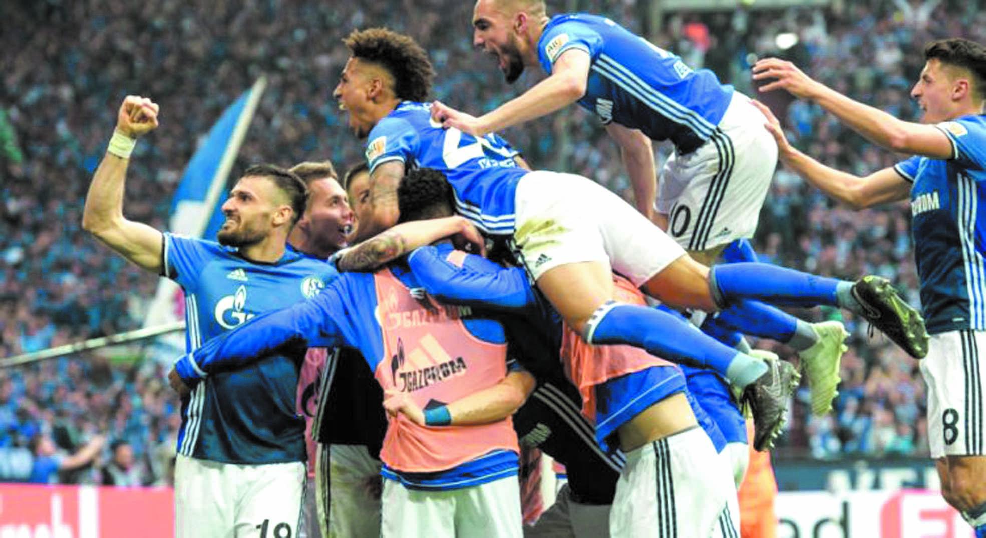 Schalke valide son billet pour la Ligue des champions