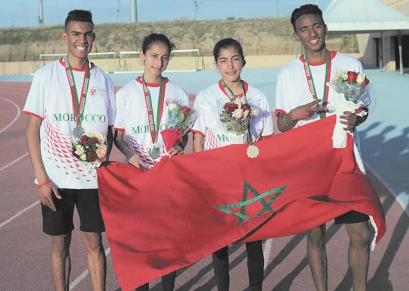 "Distinction de l'équipe scolaire marocaine au ""Gymnasiade 2018"""