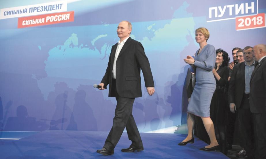 Poutine a prêté serment pour son 4ème mandat à la tête de la Russie