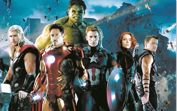 """Les """"Avengers"""" dominent le box-office"""