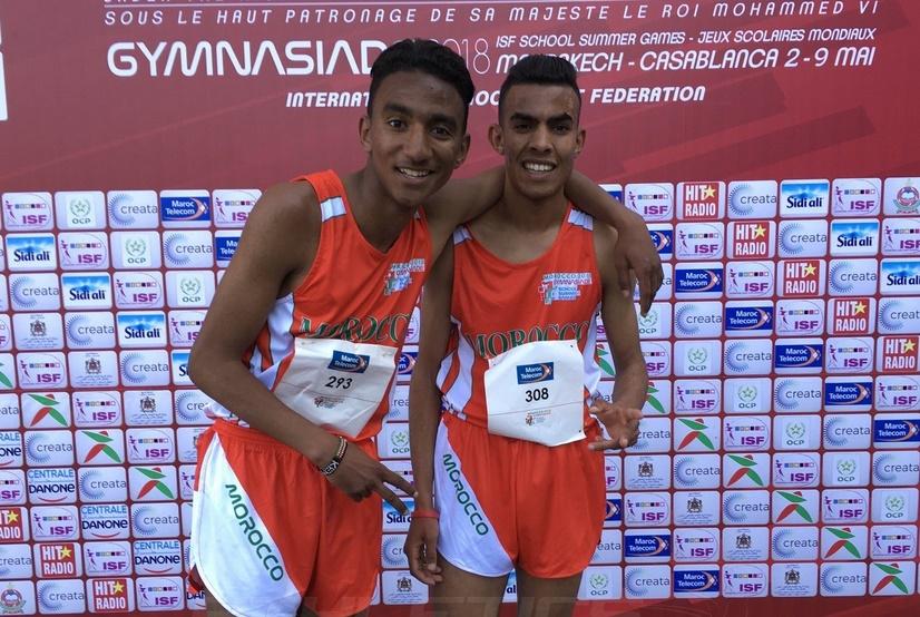 La sélection marocaine décroche la 2ème marche du podium de Gymnasiade 2018