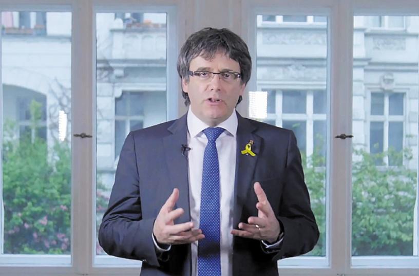 Puigdemont renonce à la présidence de la Catalogne