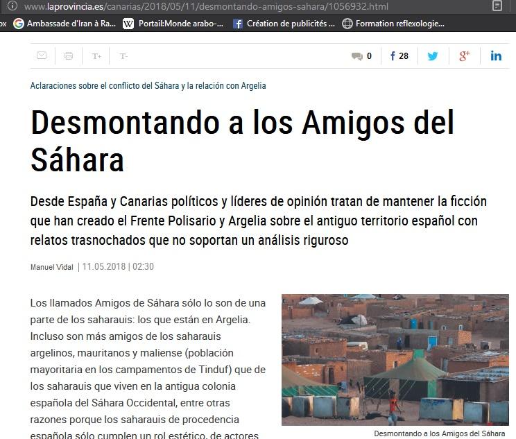 Les mensonges du Polisario mis à nu à Las Palmas