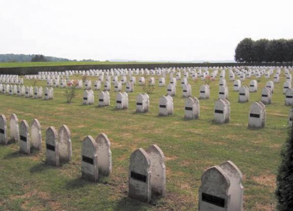 La nécropole nationale de Gembloux-Chastre.