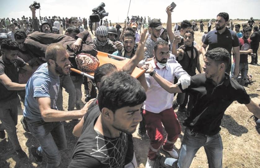Bain de sang à Gaza pour l'inauguration de l'ambassade américaine à Al-Qods