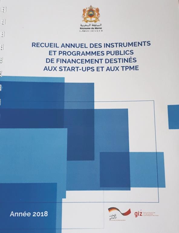 Publication d'un recueil des instruments de financement destinés aux start-up et aux TPME