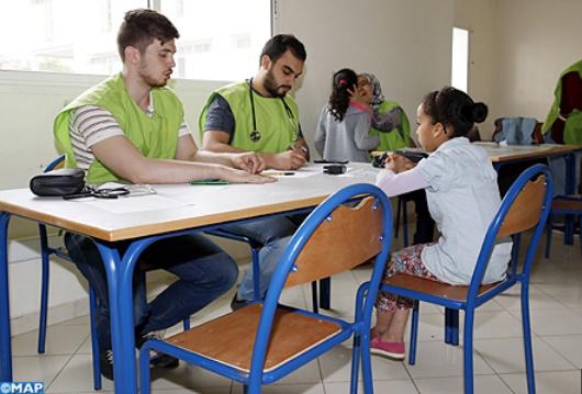 Campagne médicale au profit d'enfants en situation difficile à Sala Al-Jadida