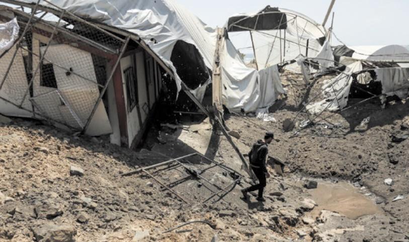 Gaza est au bord de la guerre Mise en garde de l'ONU
