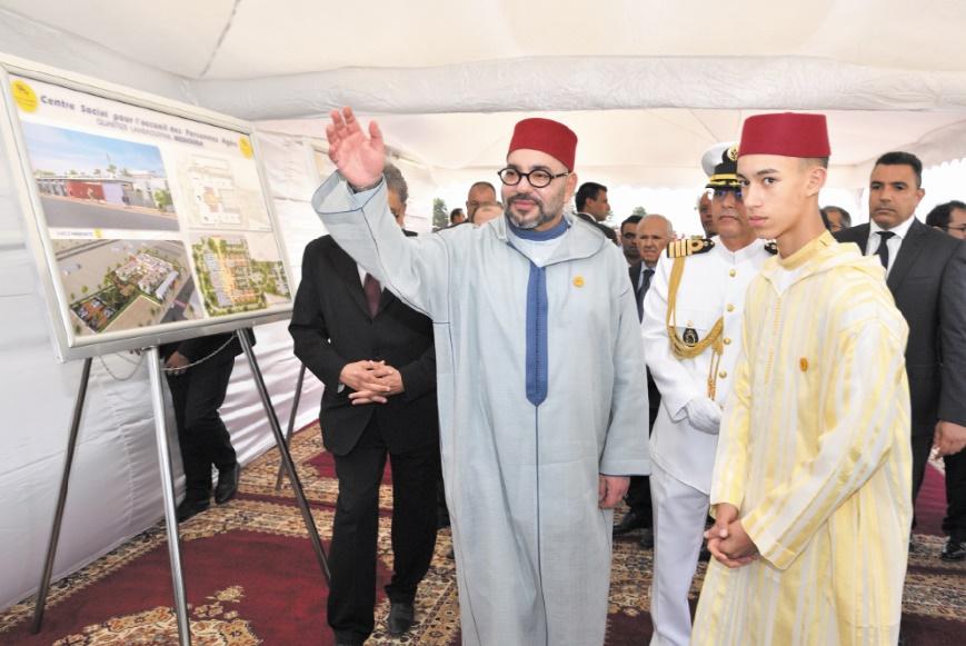 Une école de la deuxième chance à Casablanca : S.M le Roi procède au lancement d'un projet pilote