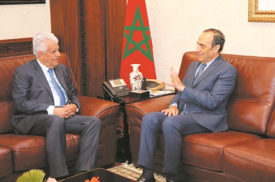 Habib El Malki réitère le soutien du Maroc à la cause palestinienne
