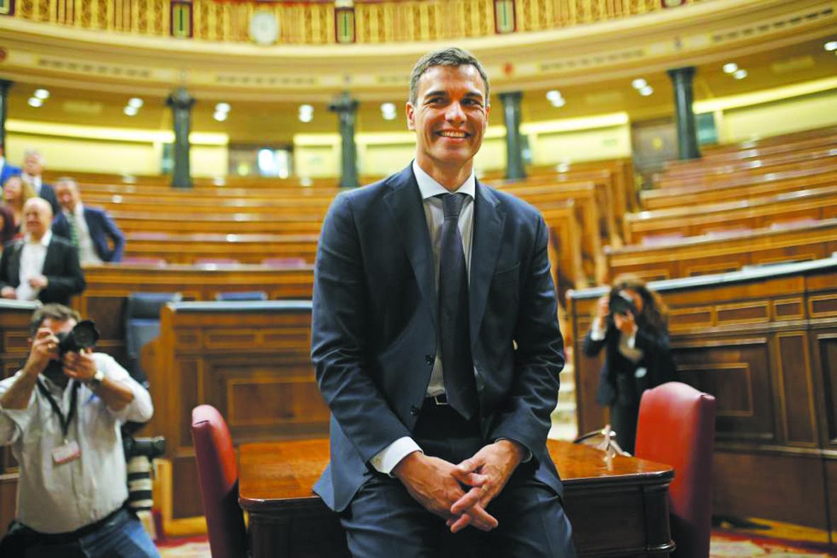 Pedro Sanchez, le triomphe  de l'obstination