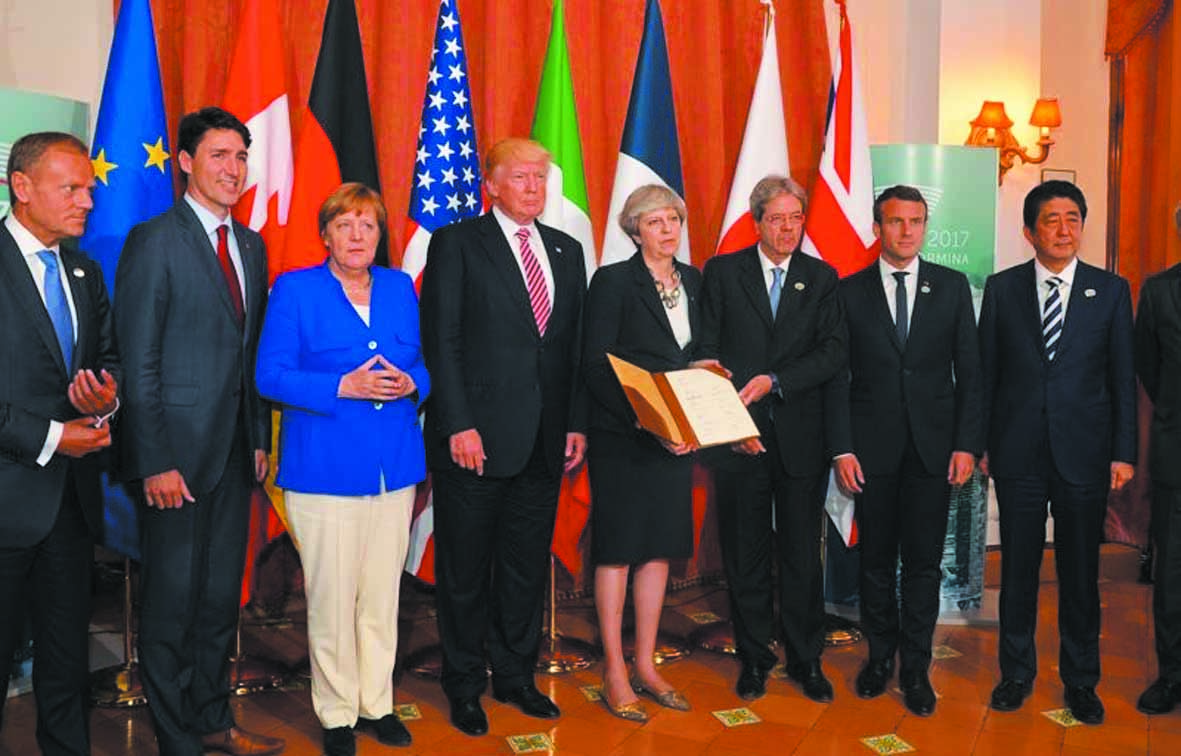 Le G7 s'achève sur une  inquiétude unanime