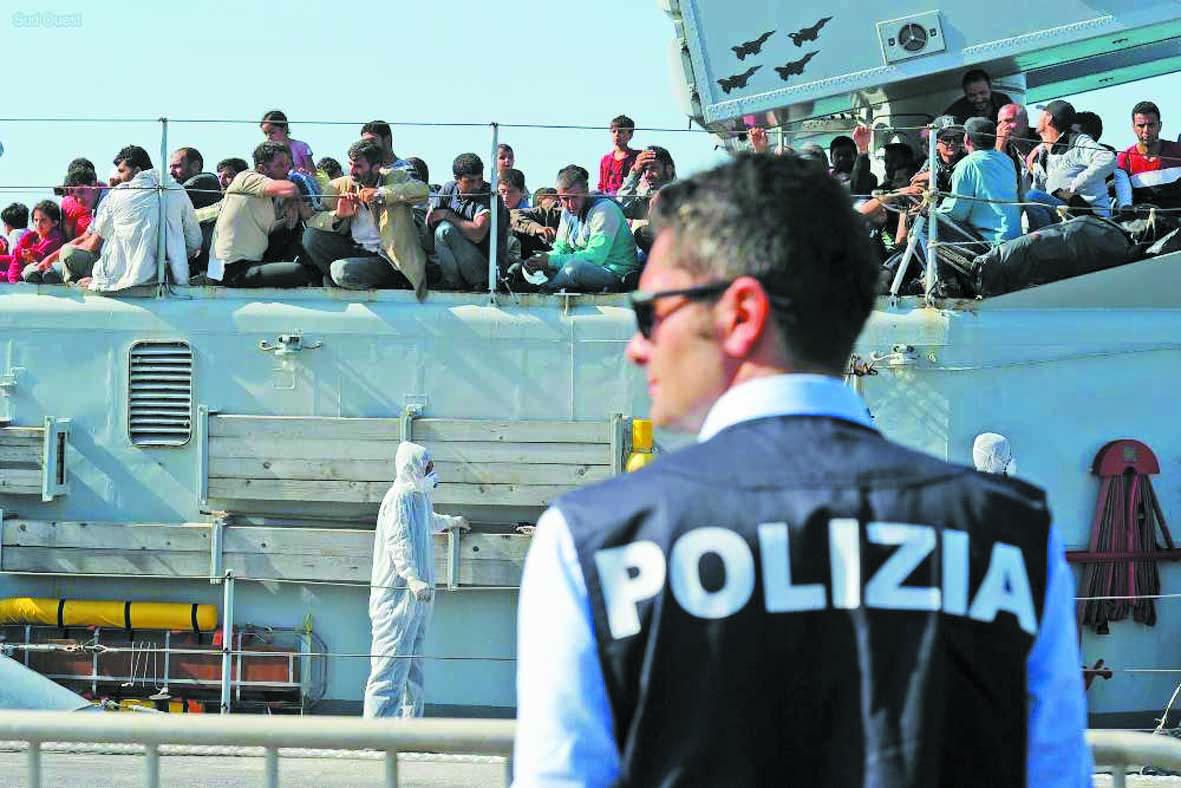 Salvini en Sicile pour affirmer  sa politique sur l'immigration