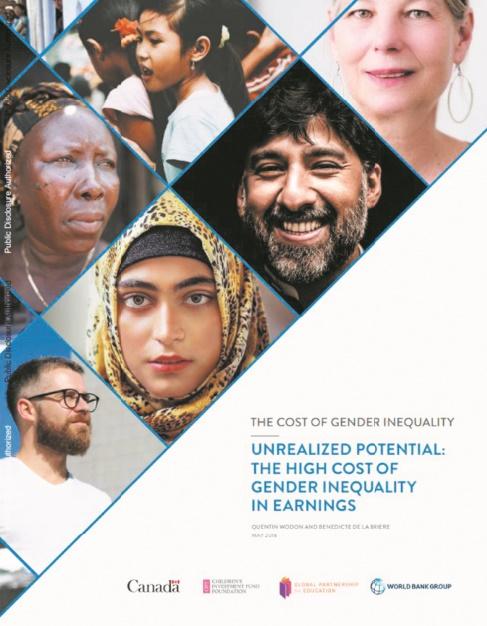 Nouvelles estimations du coût économique des écarts de revenus hommes-femmes à l'échelle mondiale