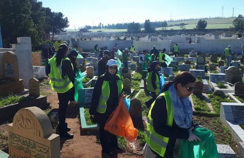 Du bénévolat pour un cimetière sans ordures