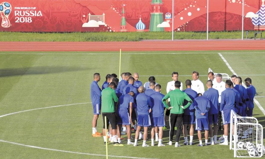 """Le Onze national """"fait peur"""" à Marca : L'EN poursuit son programme de préparation à Voronej"""