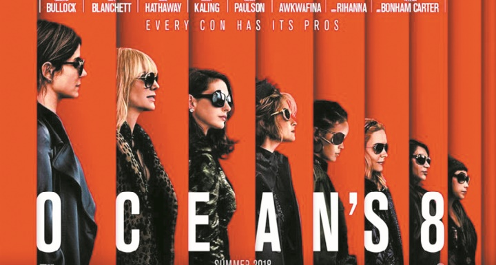 """""""Ocean's 8"""" en tête du box-office pour son premier weekend"""
