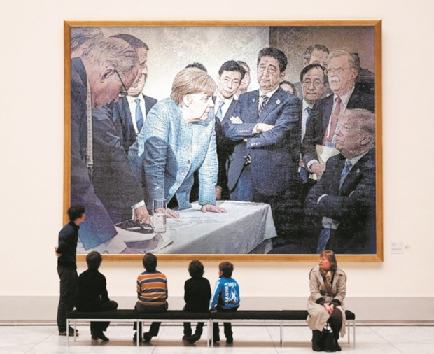 La photo qui a fait le buzz lors du G7