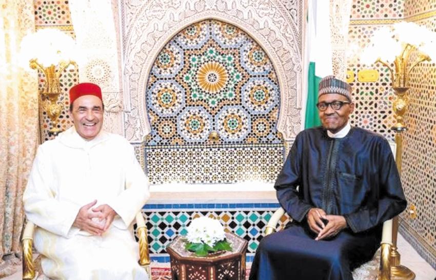 Le Président nigérian reçoit Habib El Malki