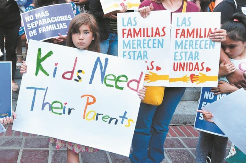 L'ONU qualifie d'inadmissible la séparation des enfants d'immigrants  de leurs parents